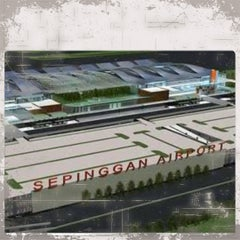 Photo taken at Sultan Aji Muhammad Sulaiman Sepinggan Balikpapan International Airport (BPN) by Wahyu P. on 12/12/2012