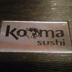 Photo taken at Kooma sushi Restaurant by Joe D. on 1/11/2015