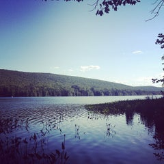 Photo taken at Mauch Chunk Lake Park by Eugene N. on 8/24/2013