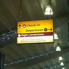 Photo taken at Southampton Airport (SOU) by Stuart on 12/19/2012