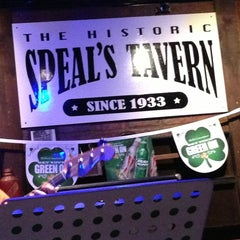 Photo taken at Speal's Tavern by Erick S. on 3/9/2013