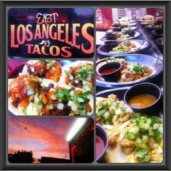 Photo taken at East LA Tacos by Esther S. on 8/3/2013