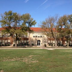 Photo taken at Brown vs. Board of Education National Historic Site by Tom B. on 9/19/2012