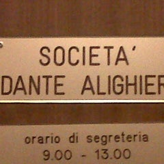 Photo taken at Società Dante Alighieri by Rafaela D. on 9/27/2012