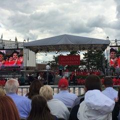 Photo taken at Nickerson Field by Bob L. on 5/18/2014