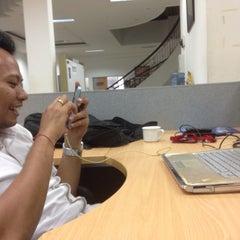 Photo taken at GraPARI Telkomsel by Ian Juanda M. on 1/21/2014