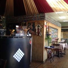 Photo taken at Gojo Ethiopian Restaurant by Naren on 10/8/2012