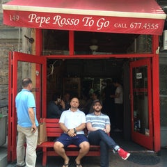 Photo taken at Pepe Rosso To Go by Kristi K. on 7/7/2015