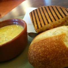 Photo taken at Panera Bread by Rosie N. on 3/26/2013