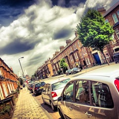 Photo taken at Queenstown Road by Lukasz Z. on 5/17/2014