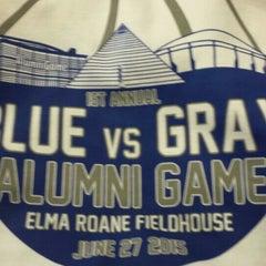 Photo taken at Elma Roane Fieldhouse by Harry G. on 6/27/2015