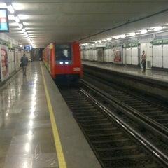 Photo taken at Metro San Juan de Letrán by Luis C. on 4/6/2013