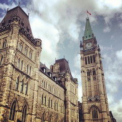 Photo taken at Parliament Hill by Gordon C. on 6/30/2013
