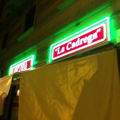 "Photo taken at Hosteria Tipica Milanese ""La Cadrega"" by Fabrizio F. on 10/25/2012"