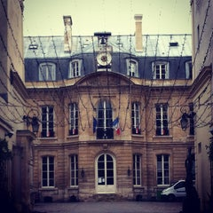 Photo taken at Mairie du 9e arrondissement by Jamie C. on 1/25/2014