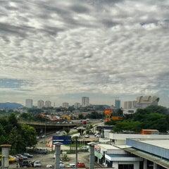 Photo taken at KTM Line - Kepong Sentral Station (KA07) by adzmierz k. on 2/9/2013