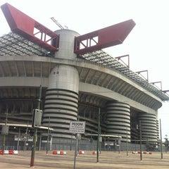 "Photo taken at Stadio San Siro ""Giuseppe Meazza"" by Serg B. on 7/13/2013"