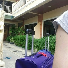 Photo taken at Seven Seas Hotel Phuket by Pops W. on 4/5/2016