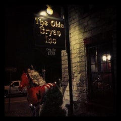Photo taken at Olde Bryan Inn by Rolando R. on 11/25/2012