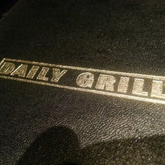 Photo taken at Daily Grill by Neil C. on 1/25/2013