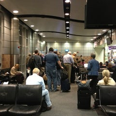 Photo taken at Gate A5 by Michael D. on 3/22/2013