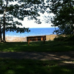 Photo taken at Searsport Shores Ocean Campground by Julie W. on 8/6/2013