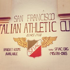 Photo taken at San Francisco Italian Athletic Club by River M. on 11/21/2013