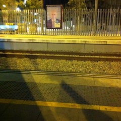 Photo taken at RENFE Cornellà by Maria Victoria V. on 3/18/2014