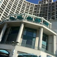 Photo taken at Corniche by Tarik J. on 10/25/2012