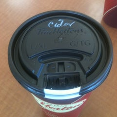 Photo taken at Tim Hortons by Nikkers M. on 2/6/2013