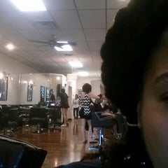 Photo taken at Boogies Barber Shop by Mina V. on 7/6/2013