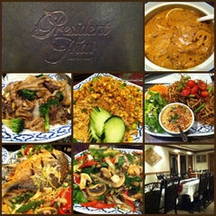 Photo taken at President Thai Restaurant by John S. on 4/17/2013