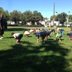 Photo taken at Villa Parke Community Center by Troy P. on 9/28/2013