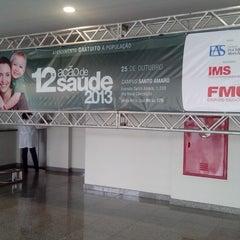 Photo taken at FMU - Campus Santo Amaro by Jú R. on 10/25/2013