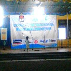 Photo taken at Stadion Gelora Bangkalan by Rizkia Putri Pambayu on 7/1/2014