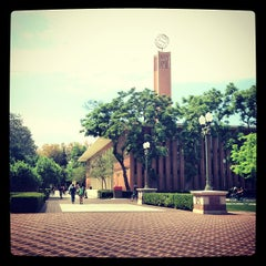Photo taken at McCarthy Quad by Mahmoud Z. on 5/7/2013