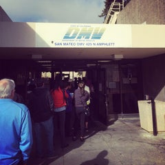 Photo taken at San Mateo DMV Office by Andrew S. on 6/2/2014