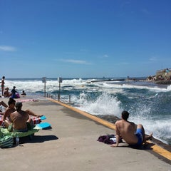 Photo taken at Clovelly Beach by Nick S. on 12/7/2013