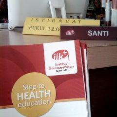 Photo taken at Institut Ilmu Kesehatan - IIK Bhakti Wiyata Kediri by Sigit P. on 9/22/2014