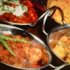 Photo taken at Maharaja Indian Restaurant by Chetty A. on 5/22/2013