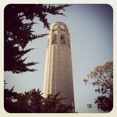 Photo taken at Coit Tower by Donia on 6/27/2013