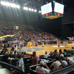 Photo taken at Qantas Credit Union Arena by Geoff K. on 1/18/2013