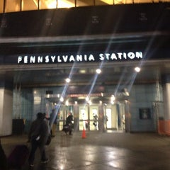 Photo taken at New York Penn Station by Jay F. on 4/12/2013