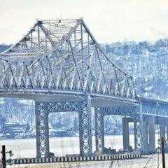 Photo taken at Tappan Zee Bridge by Milton on 2/15/2013