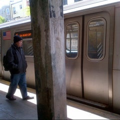 Photo taken at MTA Subway - 20th Ave (N) by silky on 5/14/2013