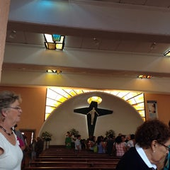 Photo taken at Parroquia Sta. María Madre de la Misericordia by Ninfa P. on 10/27/2013