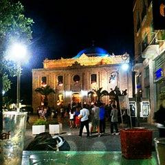 Photo taken at Indigo Cafe by Pavlos E. on 5/2/2013