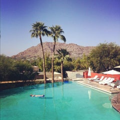 Photo taken at Sanctuary Resort on Camelback by Troy A. on 9/26/2012