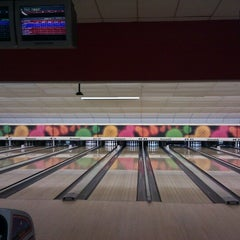 Photo taken at Astoria Bowl by Paul T. on 10/9/2012