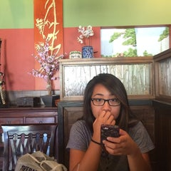 Photo taken at Sushi Boat by Khristine B. on 7/24/2014